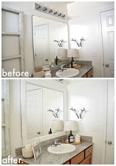 1000 ideas about frame bathroom mirrors on