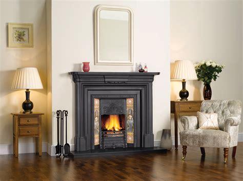stovax art nouveau tiled insert fireplace victorian