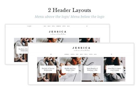 elegant themes photo gallery jessica simple and elegant wordpress theme wordpress