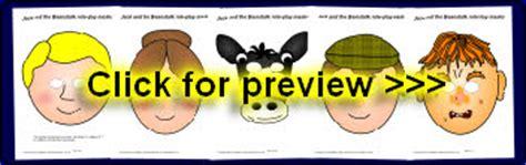 printable masks jack and the beanstalk eyfs ks1 printable fairytale roleplay masks sparklebox