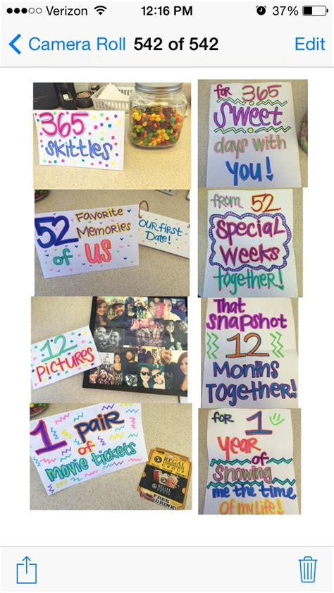 1 year anniversary ideas for top 25 best anniversary ideas on