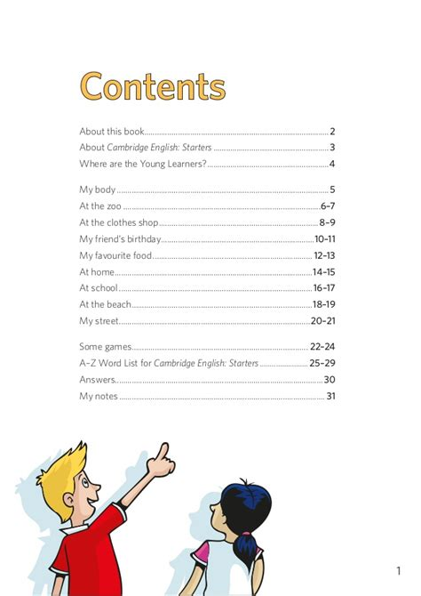 vocabulary picture book vocabulary starters word list picture book