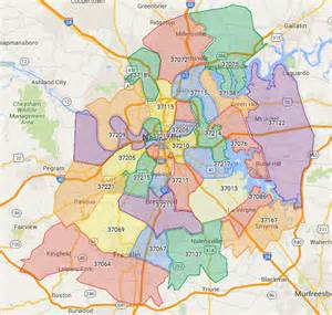 Tn Zip Code Map by Nashville Zip Codes Search All Homes For Sale By Zip