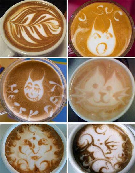 latte art pattern names designer baristas 50 incredible works of coffee latte