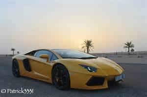 Lamborghini In Desert Dubai Aventador The Desert Run Lamborghini Aventador