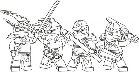 lego ninjago coloring pages for boys and free printable