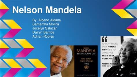 ppt on biography of nelson mandela nelson mandela powerpoint
