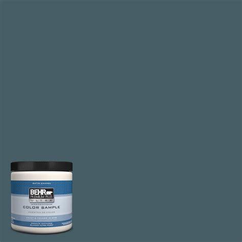 behr premium plus ultra 8 oz ppu13 19 observatory interior exterior satin enamel paint sle