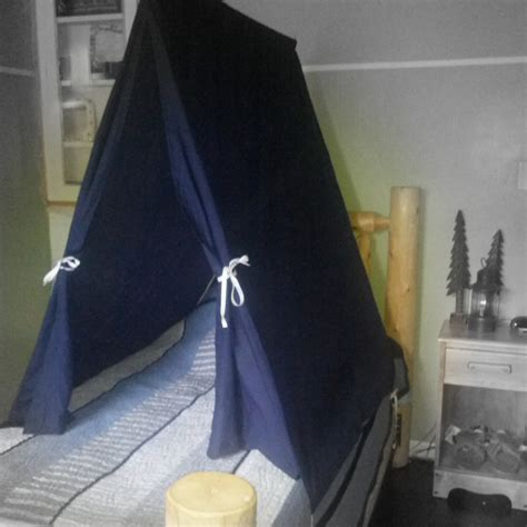 tent over bed twin size bed tent custom teepee canopy for boys or girls