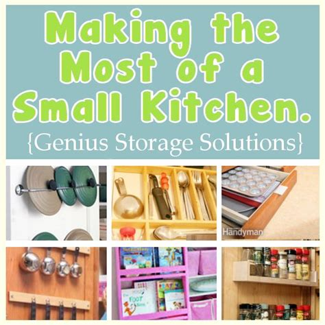 Clever Storage Ideas For Small Kitchens Making The Most Of A Small Kitchen Ingenious Storage Ideas