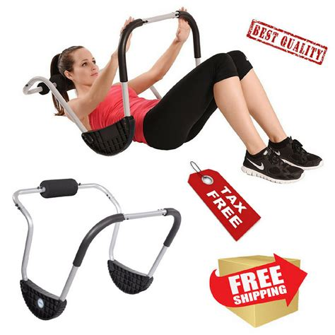 fitness equipment abs workout abdominal home exercise machine ab crunches ebay