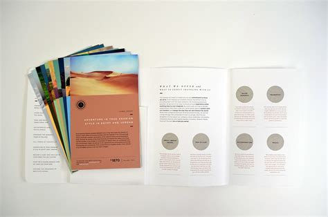 flyer design on behance astray travel co brochure design on behance