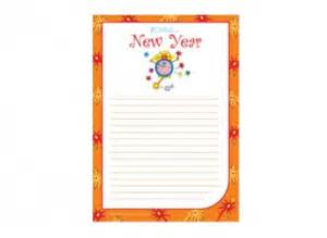 new year lined writing paper template ichild