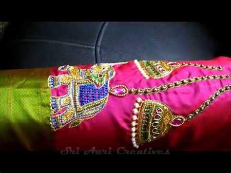 Elephant Top Blouse Hq 1 Bridal Design Exclusive Hanging Elephant