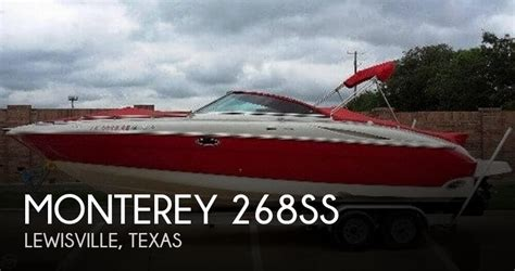monterey boats net worth monterey boats for sale in texas used monterey boats for