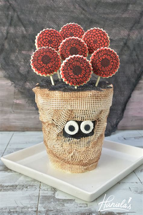 Cake Vase by Haniela S Mummy Flower Vase Cake With Sugarveil 174