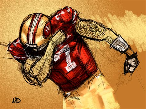 49ers Sketches by Beast Mode Kaepernick On Niners By Goodarrow On Deviantart