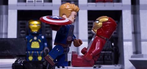 Lego Iron 46 Civil War Ori lego iron and captain america an packed civil war showdown gizmodo australia