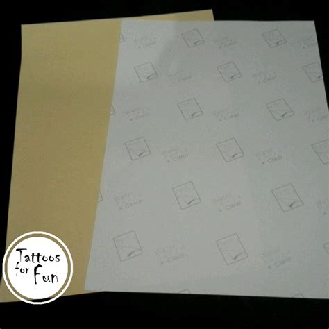 tattoo paper review 5 sets of diy tattoo paper tattoos for fun