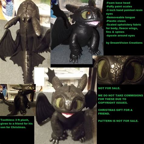 rami my love is not for sale upright toothless plush not for sale by monoyasha on