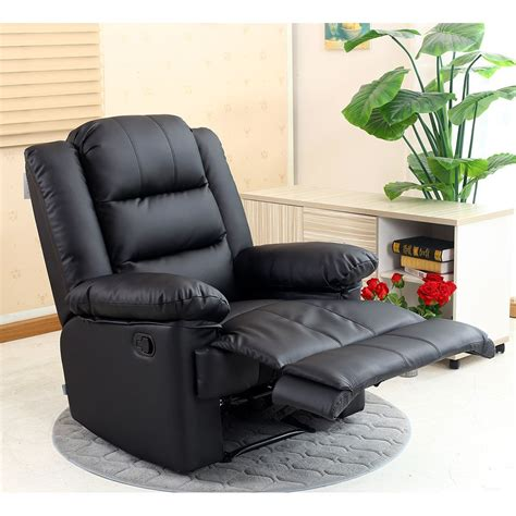 gaming recliner chairs loxley leather recliner armchair sofa home lounge chair