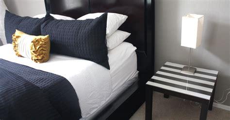 diy bed table diy bedside table kristi murphy diy blog