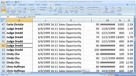report layout excel 2010 how to make header static in excel 2010 how to create