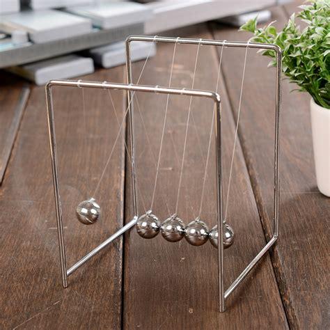 Meja Stainless Pajangan Meja Pendulum Newton Stainless Steel Size S