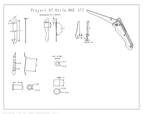 knife dimensions part 3 pocket knife dyamanagouda patil cad design