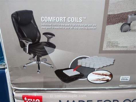 Costco True Innovations Chair by True Innovations Task Air Chair