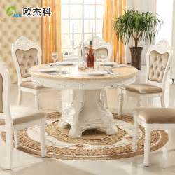 Marble And Wood Dining Table Oujie Ke Continental Combination Of Solid Wood Dining Tables And Chairs Table Marble