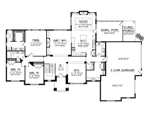 Home Plans And More May Flower Country Ranch Home Plan 051d 0702 House Plans And More
