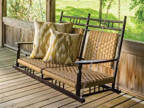 aluminum porch swing lloyd flanders low country aluminum porch swing 77019