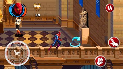 apk gamed the amazing spider 2d galaxy y gaming arena