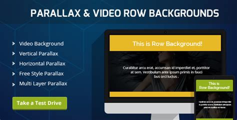 parallax video backgrounds for visual composer v1 5 7