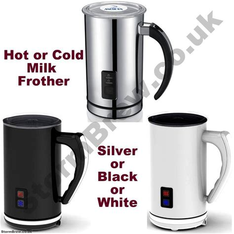 Hongxin Milk Frother Latte Capuccinno electric milk frother cold milk cappuccino latte chocolate maker ebay