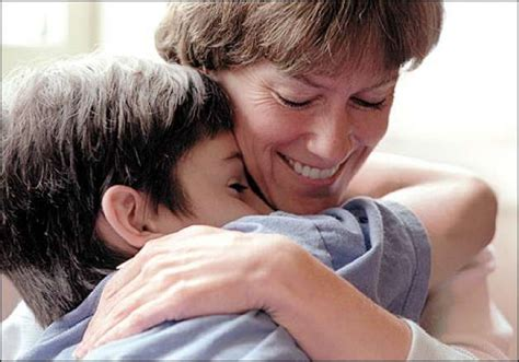 comforting hug a child s grief seattlepi com