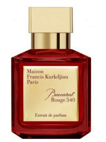 Parfum Baccarat baccarat 540 extrait de parfum maison francis kurkdjian perfume a new fragrance for