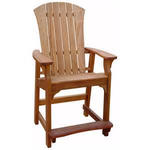 Adirondack Home Decor adirondack counter chair at hayneedle