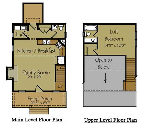 tiny cabin floor plans small guest house plan guest house floor plan