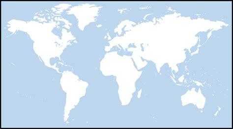 World Light Map by Light Blue World Map Clip At Clker Vector Clip