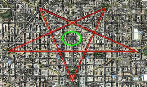 washington dc map pentagram sub epic mis adventures the apotheosis of george