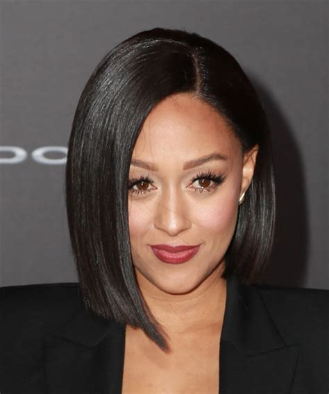 tia haircut 2014 medium tia mowry medium straight formal bob hairstyle black