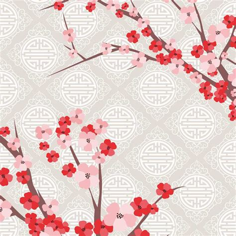 Tapisserie Fleur by Papier Peint Fleur De Cerisier