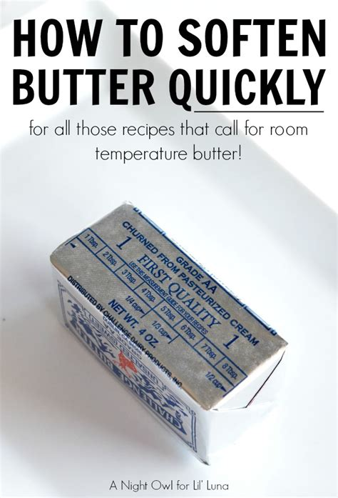 how to soften butter how to soften butter quickly lil luna bloglovin