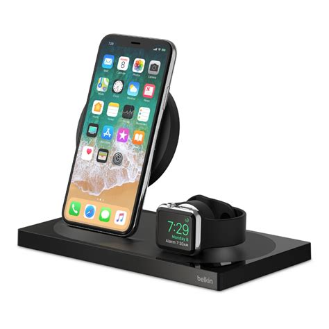 boostup wireless charging dock apple charging stand wireless iphone charger