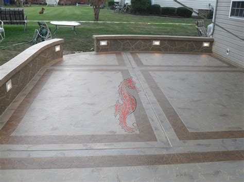 How To Make A Cement Patio by Concrete Patios Greenville Sc Unique Concrete Design
