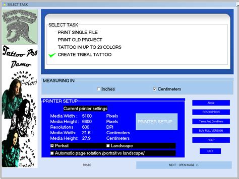 tattoo design software download pro software