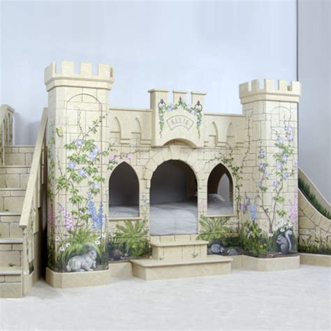 Princess Bunk Bed Castle Room That Looks Like A Fairytale Princess Castle Kidsomania