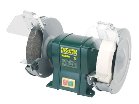 record bench grinder record power rptrpbg8 record power rpbg8 bench grinder 200mm